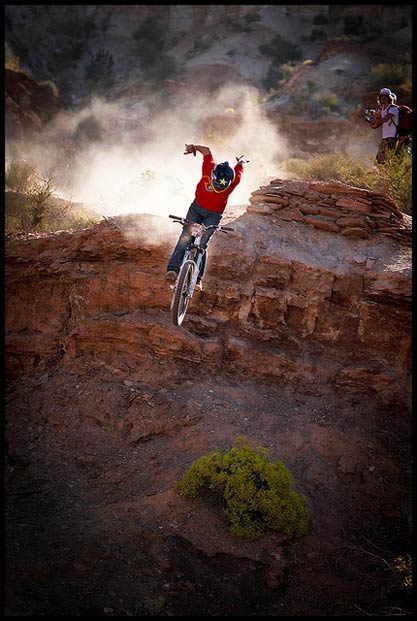 Red Bull Rampage Mountain Biking Bike198