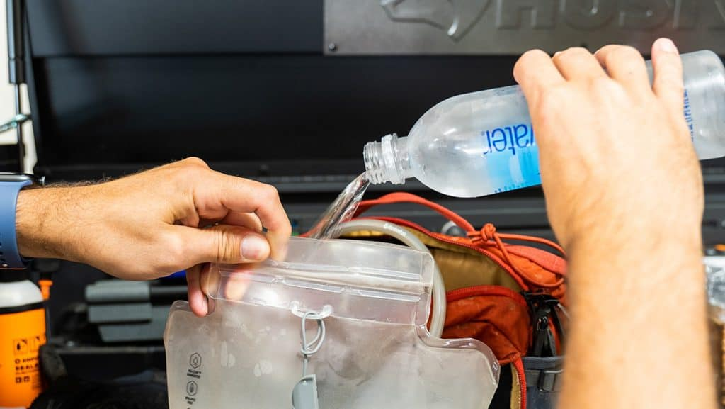 Smart Water in Hydration Packs