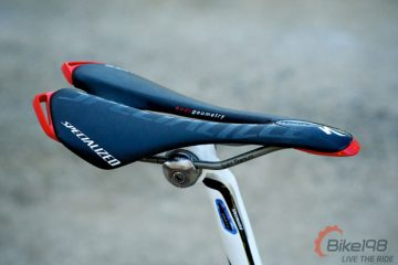 Specialized Toupe Team Saddle Side View