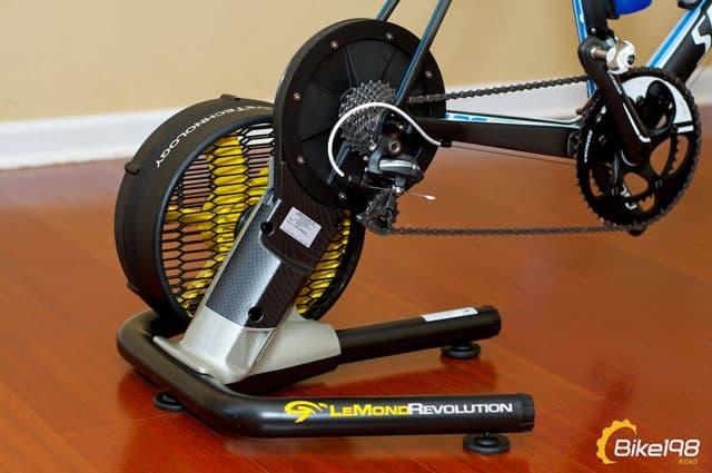 First Look Lemond Fitness Revolution Trainer Bike198