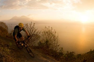 Sunset Mountain Biking