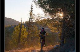 Sunset Mountain Biking