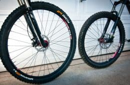 29er vs 26 inch Mountain Bike