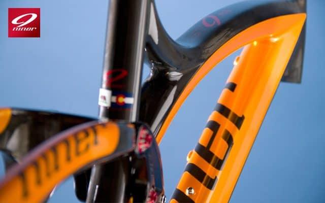 Orange Jet 9 Carbon Frame Detail