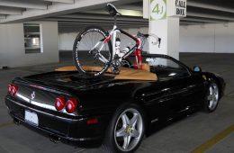 Bicycle Rack Ferrari F355