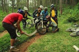Mountain Biking Snake