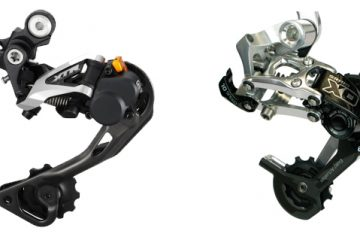 SRAM Type 2 and Shimano Shadow Plus