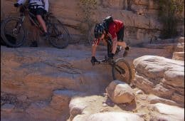 Mountain Bike Wreck