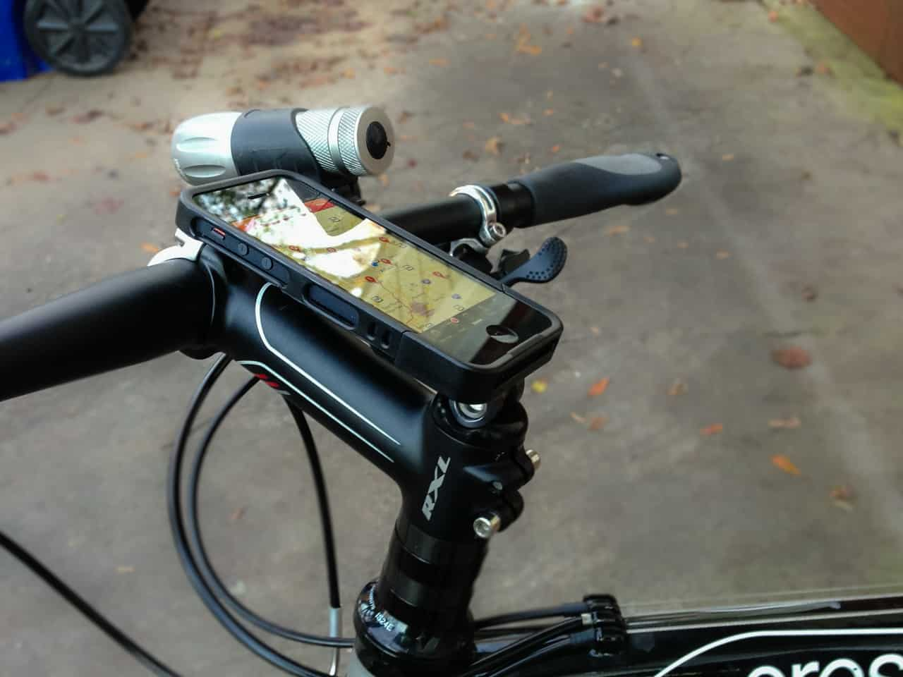 First Look Rockform Iphone 5 Case And Bike Mount Bike198