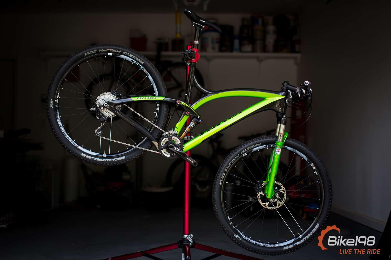 First Look Niner Jet 9 Rdo In Niner Green Bike198
