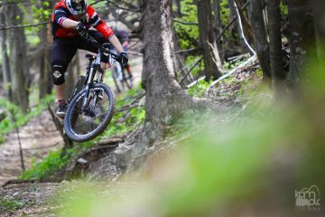 Enduro Mountain biking
