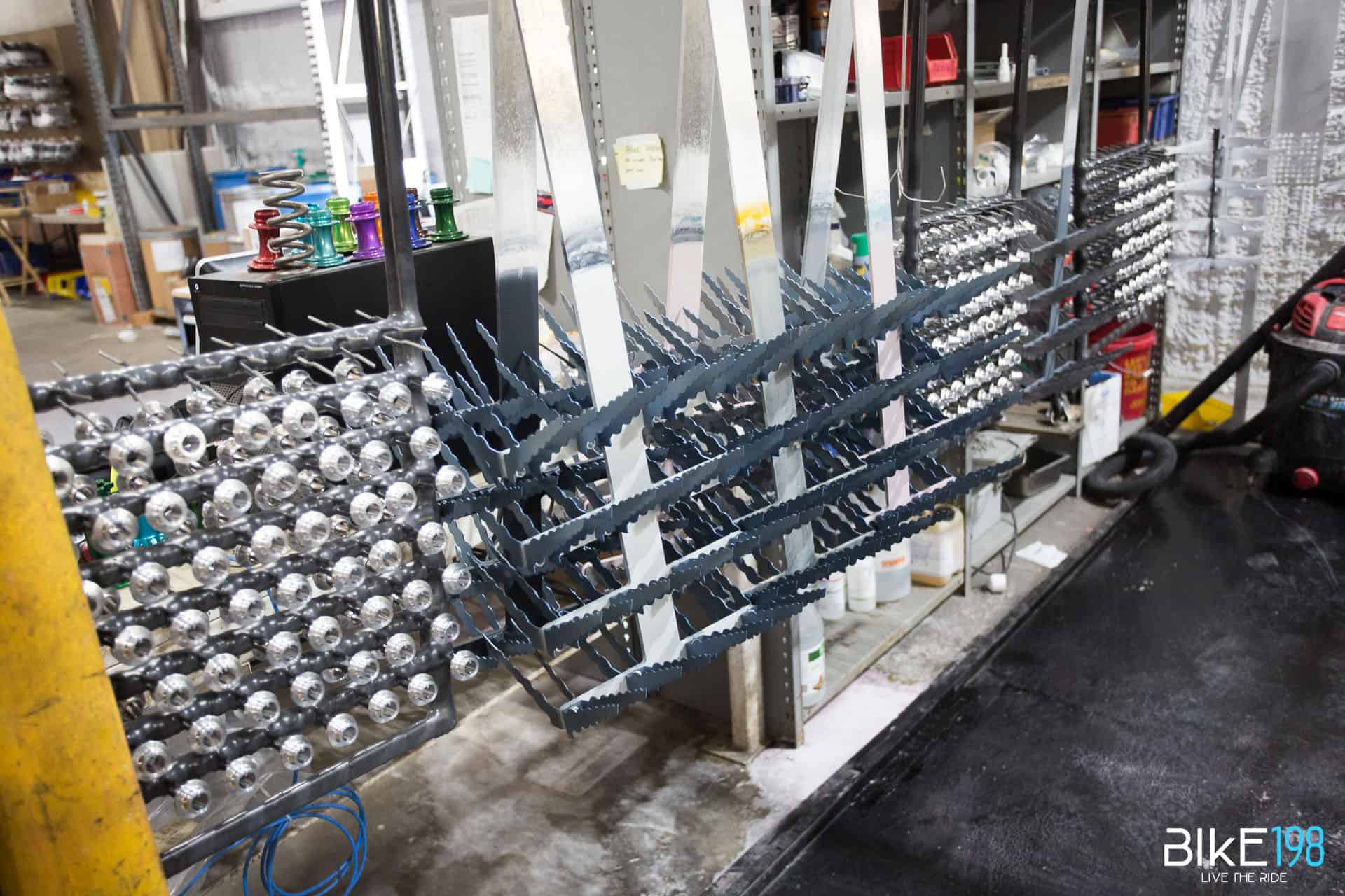 Industry Nine Anodizing Racks
