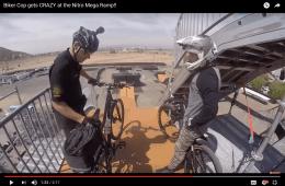 Bike Cop Mega Ramp