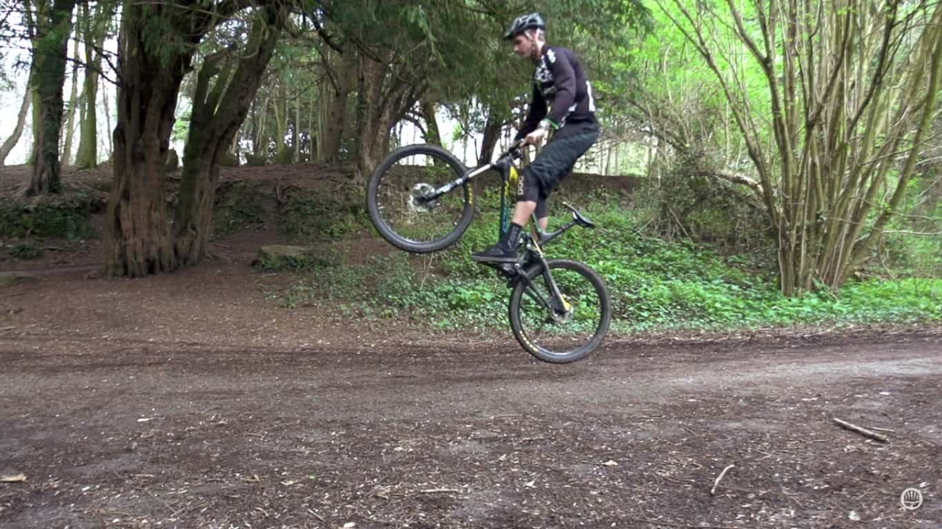 Bunny Hop a Mountain Bike
