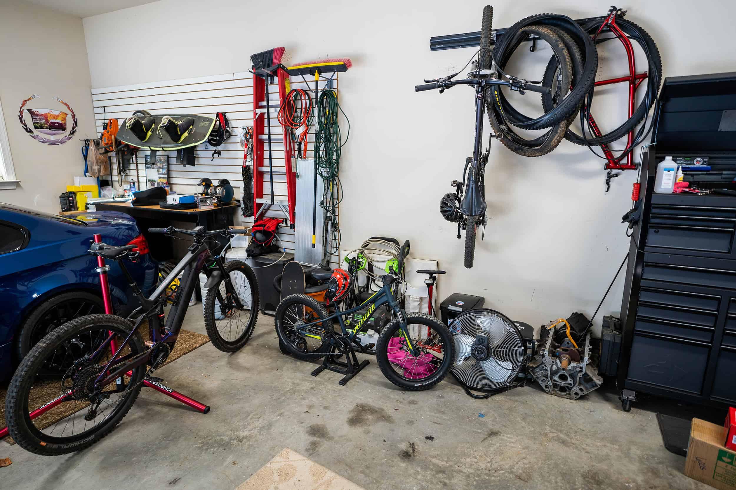 Bike Garage Storage