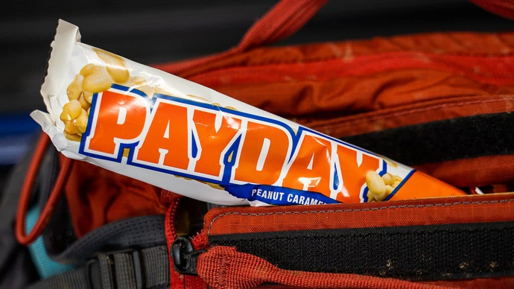 PAYDAY Candy Bar for Mountain Bikers